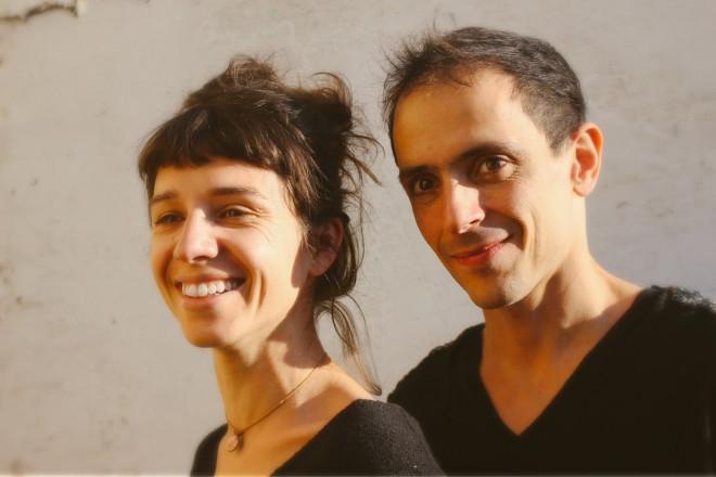Cécile Roussat et Julien Lubek credit Michel Ramonet